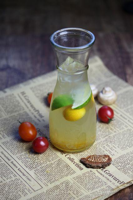 冰金桔蜜柚茶