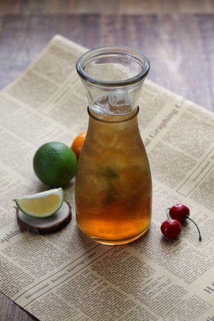 青柠檬薄荷冰茶