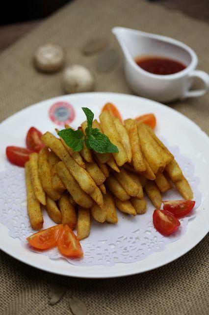卡真绿蓉薯条