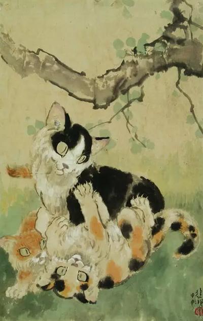 【猫窝知识】其实我的猫比马画得好—徐悲鸿