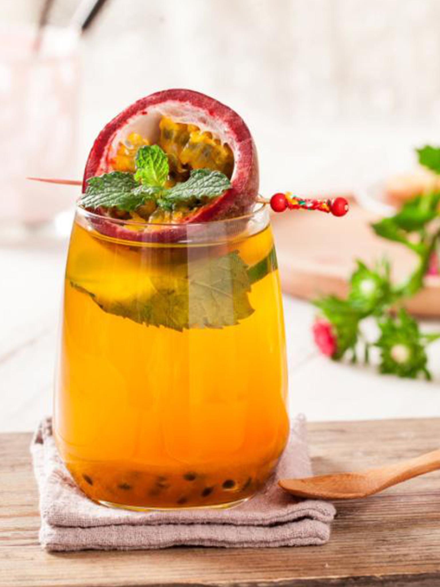 西番莲薄荷茶
